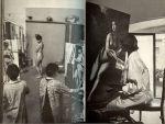 Waagenaar , Sam  met een tekst van Alberto Moravia uit het Italiaans vertaald door A.T. Romijn - Klijnsma - Vrouwen van Rome met  prachtige foto's