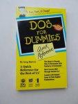 HARVEY, GREG, - Dos for Dummies.