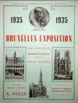 Wellé, Alphons: - Bruxelles-Exposition Universelle et Internationale. Marche triomphale pour piano, symphonie et harmonie. Piano