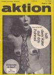 - Aktion, Politisch-literarische Zeitschrift, Nr. 7 / 1968