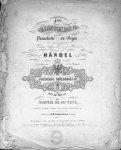 Händel, G.F.: - [HWV 292] 4ème concerto pour le pianoforte ou orgue avec accompagnement de 2 violons, alto, basses et 2 hautbois. Rédigé... par Mortier de Fontaine. Pour piano seul