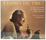 Matthieu Ricard / Dilgo Khyentse / Padmakara. - L'esprit du tibet. La vie et le monde de Dilgo Khyentsé, Maître spirituel. Extraits d'enseignements de Dilgo Khyentsé et d'autres maîtres tibétains. Preface de Sa Saintete le Dalai Lama.