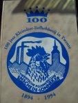 """J. Westendorp (voorzitter) - """"100 jaar Kleindierliefhebberij in Twente 1894 - 1994 """""""