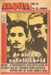 Diverse auteurs - Aloha 1972 nr. 19, Dutch underground magazine met o.a.  FRED HACHE (het verboden Udink-interview) (2 p.), BOB DYLAN (3/4 p.), RELUS TER BEEK (3 p.), goede staat