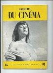 - Cahiers du Cinéma, nr. 85, Juillet 1958