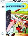 - ASTERIX de Galliër - HET GOUDEN SNOEIMES - Uderzo / Goscinny - uitgeverij Oberon