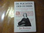 Koelman Jacobus - De plichten der ouders