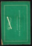 Vellekoop, G. - 1948 Handleiding voor sopraanblokfluit. Deel I.