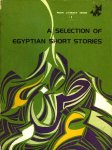 El Sharouny, Yusuf - A selection of Egyptian short stories