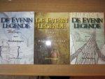 Westdorp, Peter - en De Evenin Legende Trilogie / 1. De Schatdragers 2. De Laatste winter van de ijsman 3. Een Brug naar Extempris