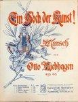 Niebhagen, Otto: - Ein Hoch der Kunst! Marsch. Op. 65. Piano