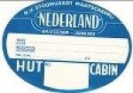 - Bagage Label SMN voor de hut/cabin