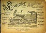 Volkert, C. en H.Y. Gatsonides - De Locomotief, een samenvouwbaar model
