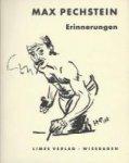 Pechstein, Max - Erinnerungen. Mit 105 Zeichnungen