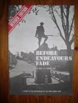 Coombs, Rose E.B. - Before Endeavours Fade. A guide to the battlefields of the First World War