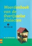 H. Schlotmeyer - Woordenboek van de Overijsselse dialecten / DL1 / deel Het huis A / druk 1