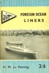 Fleming, H.M. le - Foreign Ocean Liners 1961
