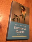 Wheatley, Nigel - Where to watch birds in Europe & Russia