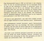 Hammarskjold, Dag - Merkstenen