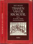 Vroon, Piet .. Omslag Illustratie uit Charles de bouelles , liber de Intellectu 1510 - Tranen van de krokodil. Over de evolutie van onze hersenen