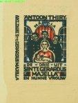 Thiry, Antoon - De drie uit Sinte Gerardus Majella en hunne vrouw