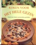 Cazemier Martha  Illustraties van Ton Wienbelt  Vertaald door Brink, Yvonne  Fotografie  Peter Barry - Koken voor het hele gezin   ..  Inspirerende ideeën voor heerlijke maaltijden