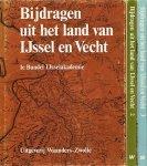 redactie - Bijdragen uit het land van IJssel en Vecht. 1e, 2e en 3e bundel.