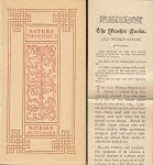 JEFFERIES, Richard - A Little Book of Nature Thoughts. (Mosher edition, Old World Series).