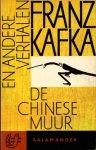 Kafka, Franz - De Chinese muur en andere verhalen. Vert. Nini Brunt