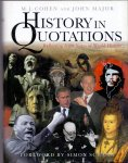 Cohen, M.J. and Major J. ( ds1344) - History in quotations, reflecting 5000 years world history