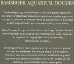 Schaefer, Claus - Basisboek AQUARIUM HOUDEN  -  Als Nieuw!