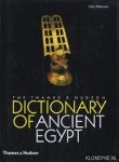 Wilkinson, Toby - The Thames & Hudson Dictionary of Ancient Egypt