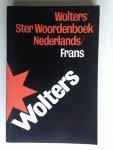 - Wolters Ster Woordenboek Nederlands-Frans