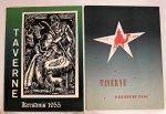 Diverse auteurs - 2 x Taverne. Kersmis 1954 en 1955