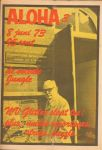 Diverse auteurs - Aloha 1973 nr. 03, 8 juni, Dutch underground magazine met o.a./with a.o CUBY & THE BLIZZARDS (1/2 p. + foto), FATS DOMINO (recensie nachtconcert), strip  DICK MAAS, LP recensies YES, ROY BUCHANAN, goede staat/good condition
