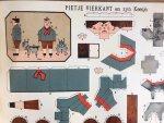 Houten, Hans van - De Familie Vierkant Poppetjes van papier 2e serie