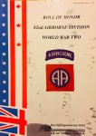 Thuring, G.   Van Den Bergh, F. e.a. - Roll Of Honor, 82nd Airborne Division World War Two (Historical Edition No. 4)