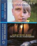 King, Jonathan. en Harlan Coben  Vertaling Els Franci- Ekeler  Omslagontwerp  Stef Verbraeken - Zicht in de duisternis  en Oud zeer