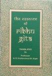 Krishnamoorthi Aiyer, N.R. (translation) - The essence of Ribhu Gita