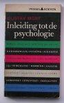 MORF, GUSTAV, - Inleiding tot de psychologie.