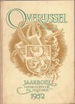Lugard Jr., G.J. (hoofdred.), W.H. Dingeldein, Herman Korteling en Henri Th. Timmerman - Overijssel. Jaarboek voor cultuur en historie. 1952. (Zesde Jaargang)