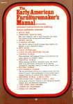Marlow, A W - The early American furnituremaker's manual
