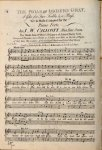 Callcott, John Wall: - The friar of Orders Gray, a glee for two trebles and a bass. Set to music & adapted for the piano-forte