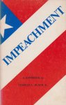 Black jr, Charles L. - Impeachment - A handbook