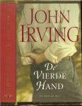 Irving, John  weer een briljante verteltrant - De vierde hand