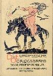 Muller, Dr. P.J. - De Europeesche Oorlogsbrand, deel I (Eerste Wereldoorlog). Een boek voor het Nederlandsche volk met platen, portretten en kaarten