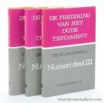 Jagersma, Hendrik. - Numeri [ 3 volumes ].