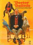 Lofting, Hugh - Doctor Dolittle, met kleurenfotos uit de gelijknamige film, 47 blz. paperback op a-4 formaat