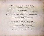 Nieuwenhuyzen, F.: - Koraal-boek inhoudende alle de melodijen der evangelische gezangen in gebruik bij den openbare godsdienst van de Nederduitsche Hervormde Gemeenten geschikt voor het orgel en klavecimbaal