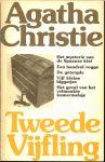 AGATHA CRISTIE is in 1890 geboren in torquay en overleden 1976 - AGATHA CHRISTIE TWEEDE VIJFLING  * het mysterie van de spaanse kist * een handvol rogge *  de getergde * vijf kleine biggetjes  * het geval van het volmaakte kamermeisje